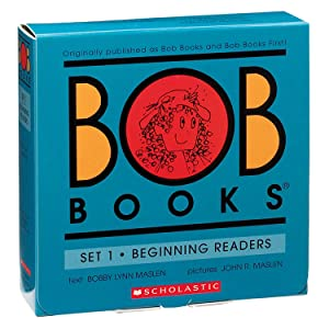 Scholastic SB-0439845009 Trade Bob Books Beginning Readers Book, Set 1 (Pack of 12)