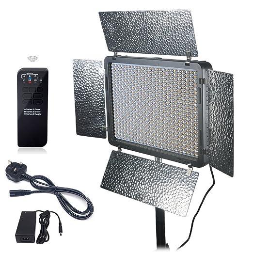 42 opinioni per Mcoplus®- LED-520B Bi-colore 528PCS 3500LM 3200K- 7500K con telecomando senza