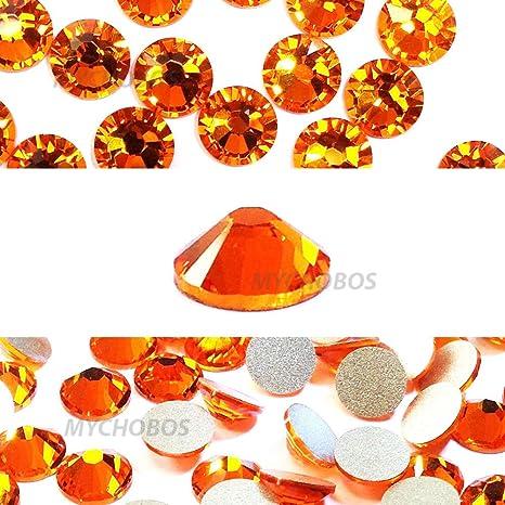 d4f3066c7a48cf Sun (248) Orange Swarovski New 2088 xirius Rose 34ss 7 mm flatback ...