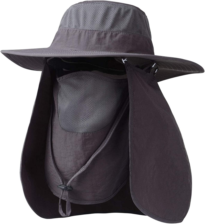 zhouzhou666 Fishing Cap Male Visor Outdoor Sun Protection Sun Hat Breathable Fisherman Hat Mountaineering Cool Hat