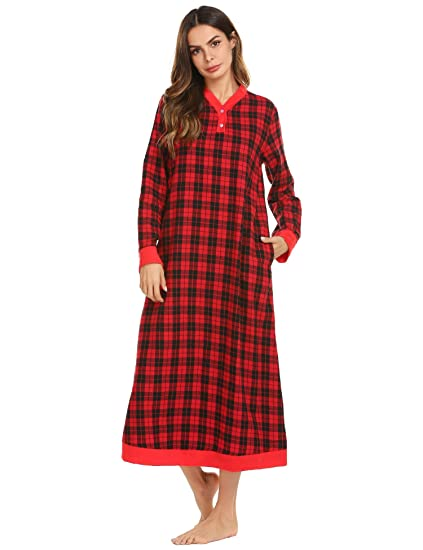 7a8c8d9dc1 Image Unavailable. Image not available for. Color  Ekouaer Nightgowns  Nightshirts for Women ...