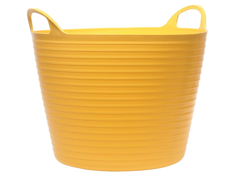 Faithfull - Heavy-Duty Polyethylen Flex Wanne 15 Liter Gelb - FAIFLEX15Y
