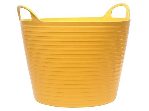 Faithfull Polyethylene Flex Tub 42L Yellow