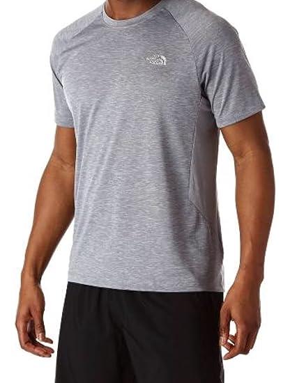 5ad67dda5 Amazon.com: The North Face Men Ambition FlashDry Shirt Medium Grey ...