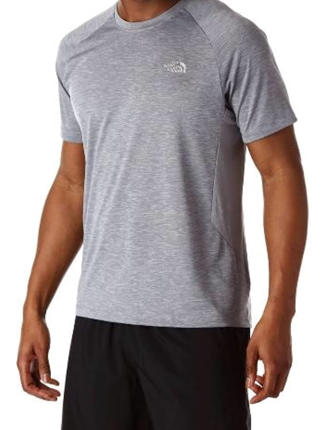 ad98a2566 The North Face Men Ambition FlashDry Shirt in Medium Grey Heather in ...