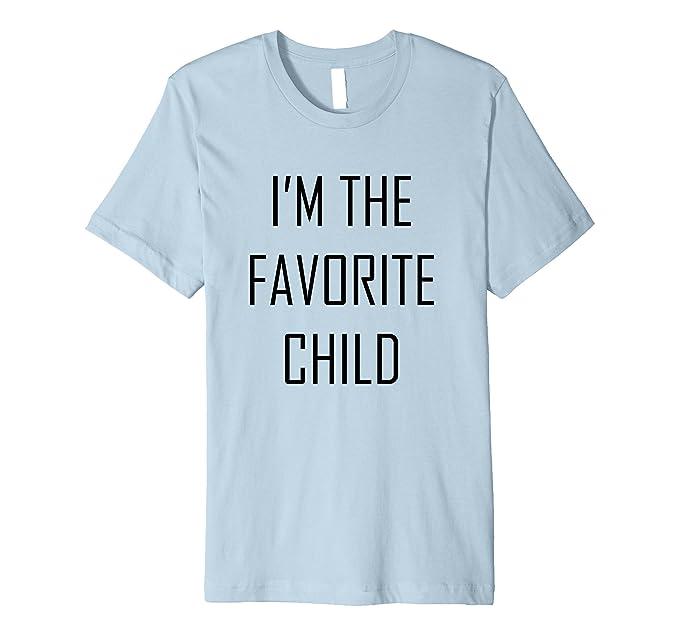 b6fe661e3 Mens I'm The Favorite Child Funny Siblings Premium T-Shirt 2XL Baby Blue