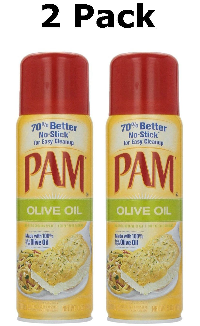 PAM Olive Oil Cooking Spray, 5 Oz (2 Pack)