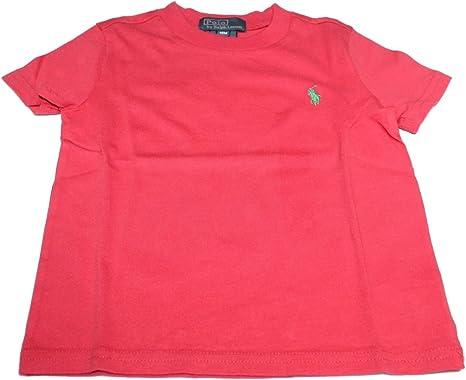Polo Ralph Lauren - Camiseta - para bebé niña Rojo Rosso 18 ...