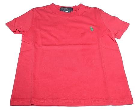 Polo Ralph Lauren - Camiseta - para bebé niña Rojo Rosso 18 Meses ...