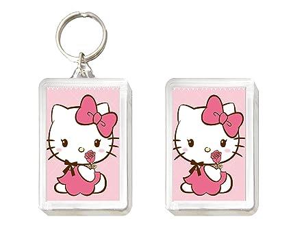 Llavero y Imán Hello Kitty: Amazon.es: Juguetes y juegos