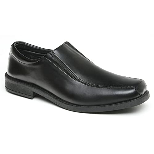 Toughees - Mocasines para niño, Color Negro, Talla 27,5 EU: Amazon.es: Zapatos y complementos