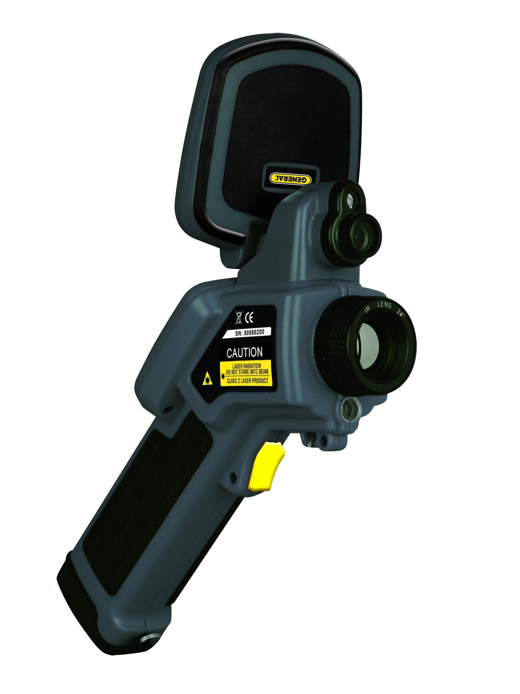 General Tools GTi20 Predator Thermal and Visual Imaging Camera, 160x120 Pixels IR Resolution