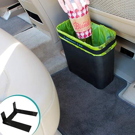 Amazon.com: Lata de basura de calidad para autos con forro ...
