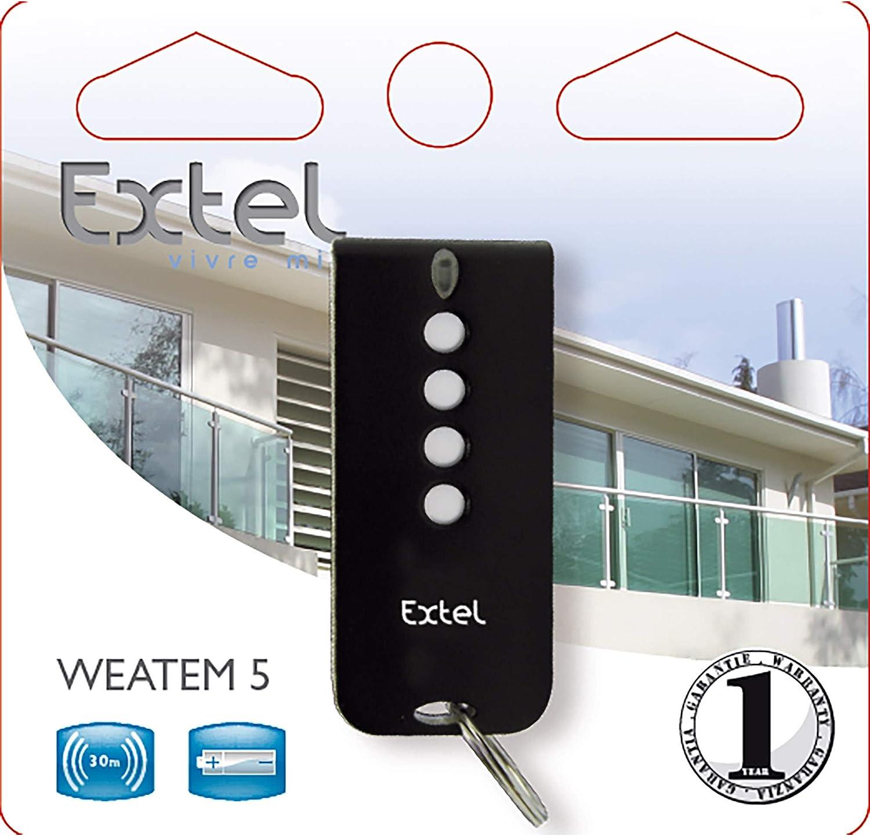 Télécommande Motorisation de Portail EXTEL ATEM 5 WEATEM 5 modèle d/'origine