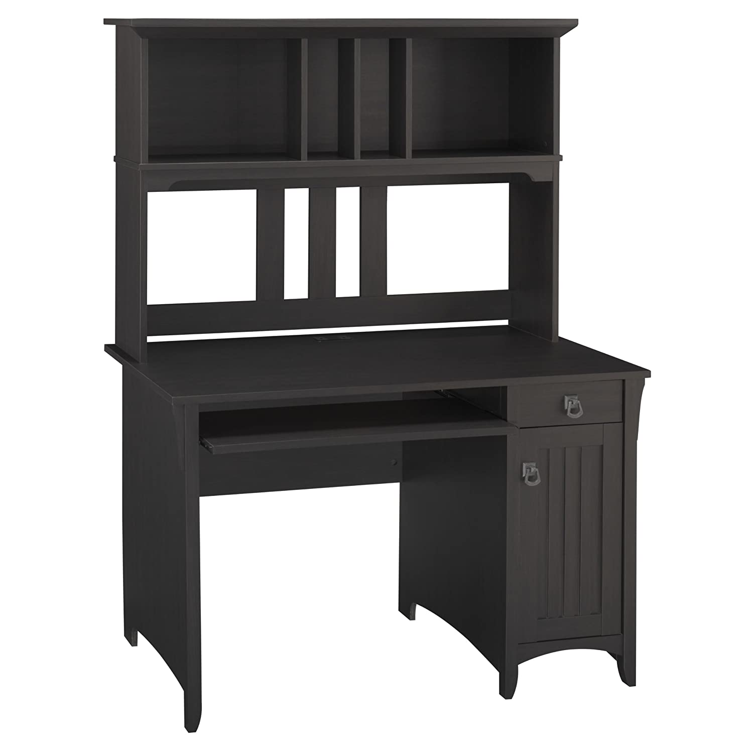 amazoncom salinas collection mission desk hutch kitchen dining bush desk hutch office
