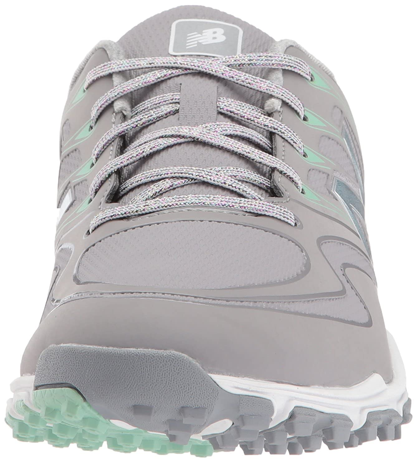 New Balance Frauen Flache Sandalen Grey/Mint