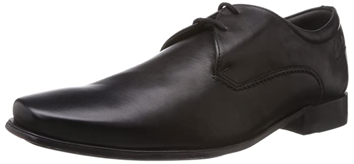 Clarks Men's Feelin Good Leather Formals and Lace-Up Flats Formal Shoes at amazon