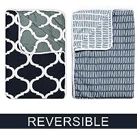 Divine Casa Reversible Microfibre Comforter/Blanket/Quilt/Duvet, Ac Single
