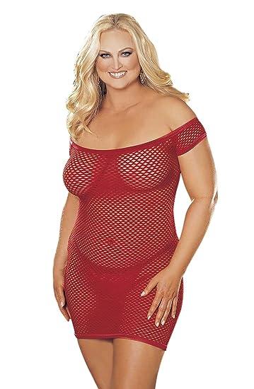 Big Hole Fishnet Dress