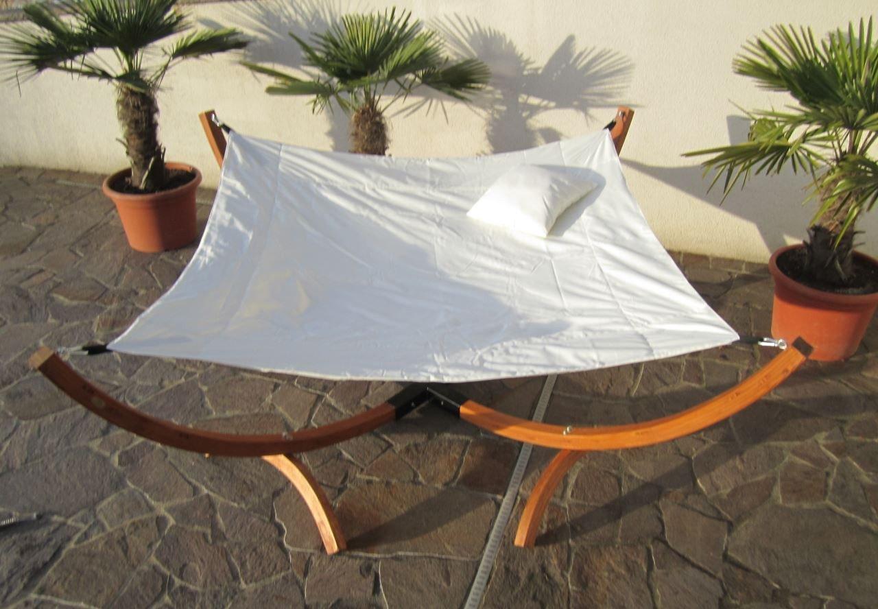 Sonnenliege Doppelliege Gartenliege Hängematte Hängemattengestell Doppel Liege Gartenmöbel BANZAI von AS-S