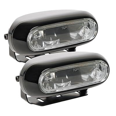 Optilux H71010281 Model 1200 12V/55W Rectangular Clear Halogen Fog Lamp Kit: Automotive [5Bkhe0109586]
