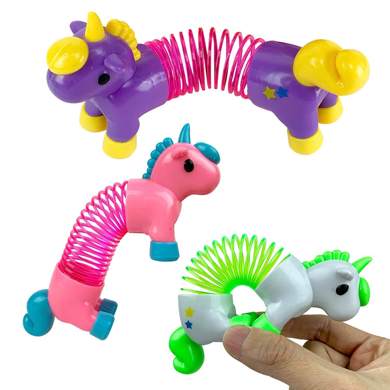 Liberty Imports Set of 12 Pcs Mini Mini Mini Unicorns Magic Coil