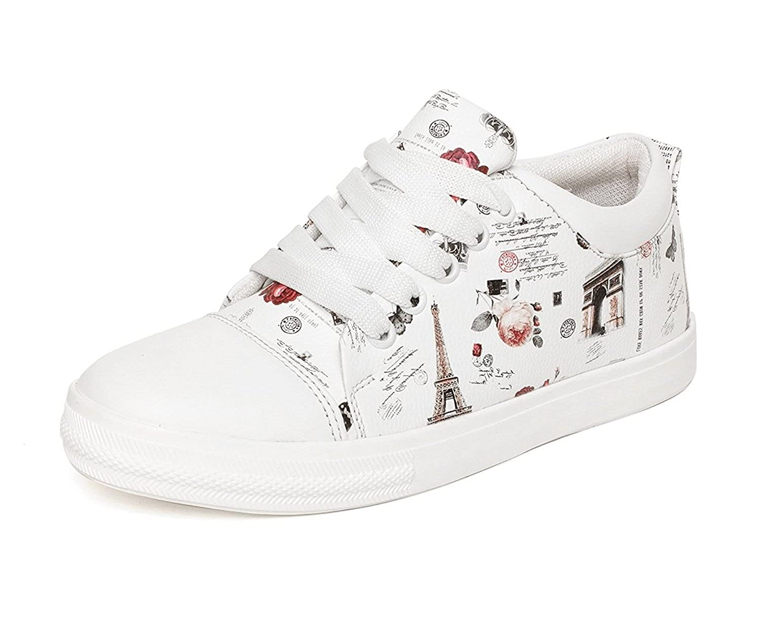 thics Perfect Women's White Casual Shoes