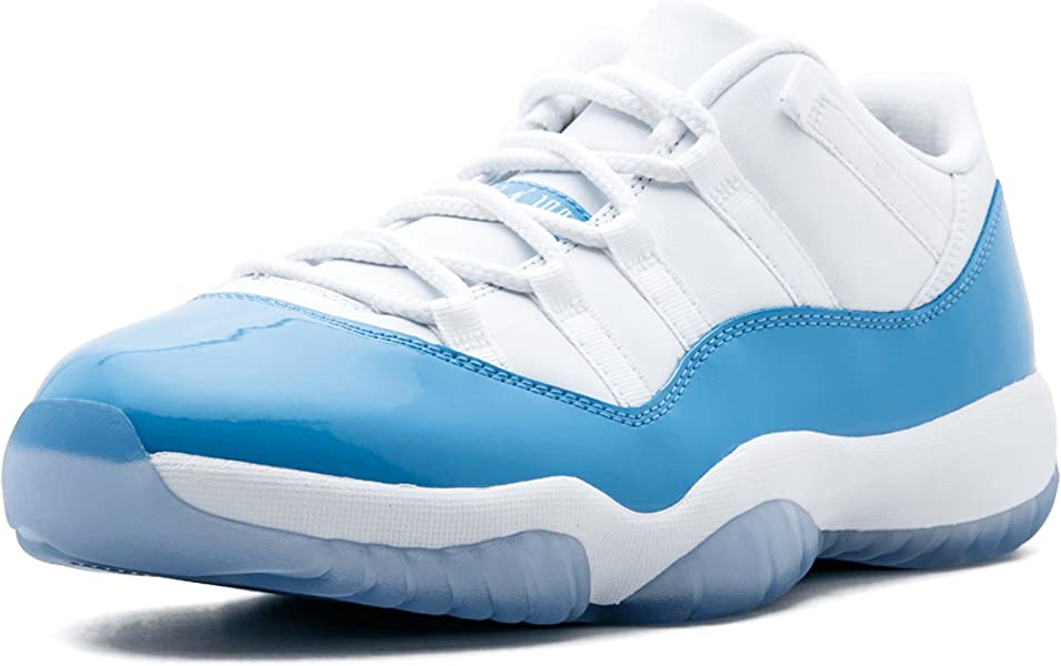 bea47e129c9e Jordan Men Air Jordan 11 Retro Low (White University Blue) Size 9.5 US