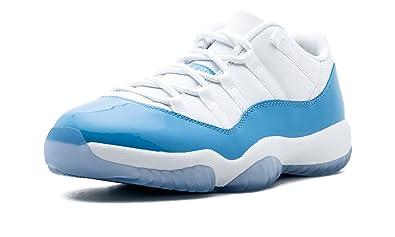 694a38b4fbf ... wholesale nike mens air jordan 11 retro low white university blue  leather size 9.5 20ee9 05287
