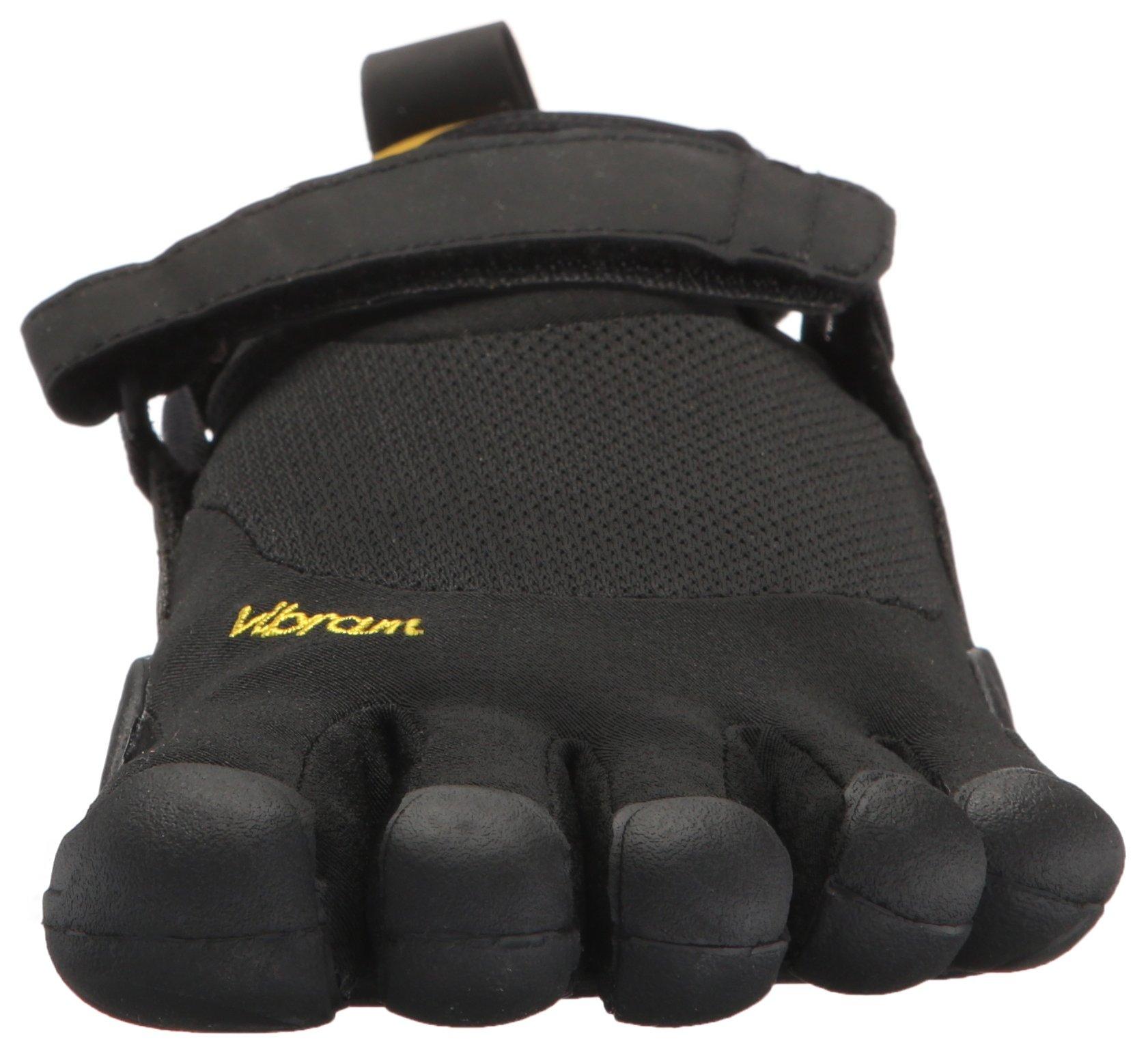 Vibram Men's Five Fingers, KSO EVO Cross Training Shoe Black Black 4.4 M by Vibram (Image #4)