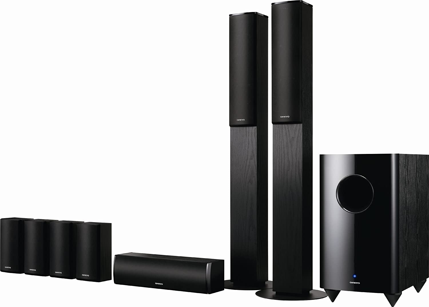Amazon.com: Onkyo SKS-HT870 Home Theater Speaker System: Home Audio ...