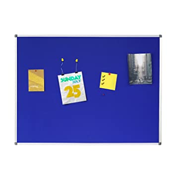 Amazoncom 4 Thought Fabric Bulletin Board 48 X 36 Inches Wall