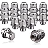 "YITAMOTOR Lug Nuts 12x1.5 Mag Seat Chrome, m12x1.5 Wheel Lug Nuts 1.46"" Tall 0.83"" Hex Compatible for Chrysler Toyota…"