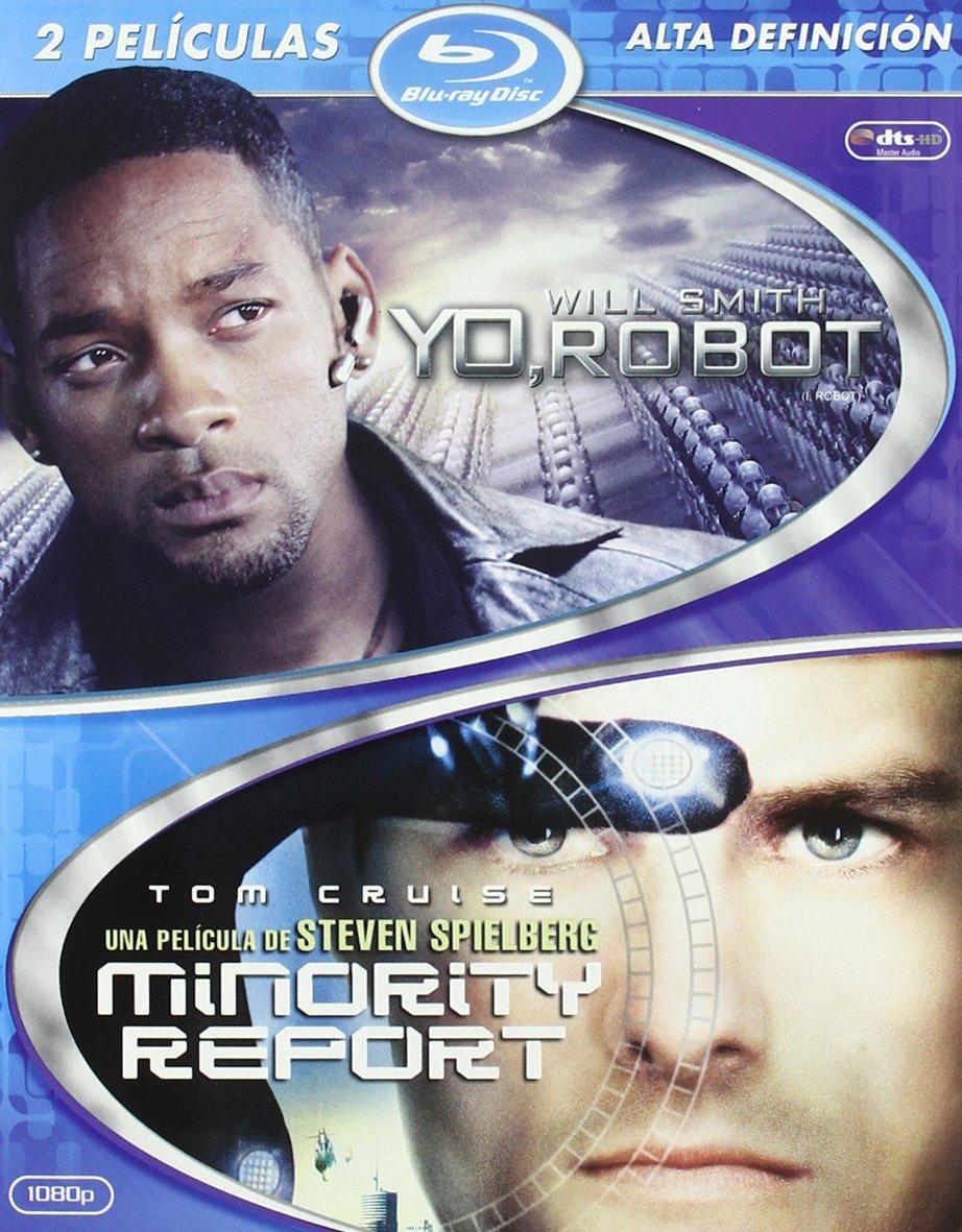 Yo, Robot/Minority Report - Bd Pck 2 [Blu-ray]