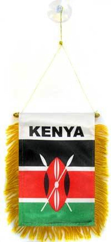 Nueva bandera de Kenia 152,4 cm x 91,44 cm con 2 grandes ojales de metal