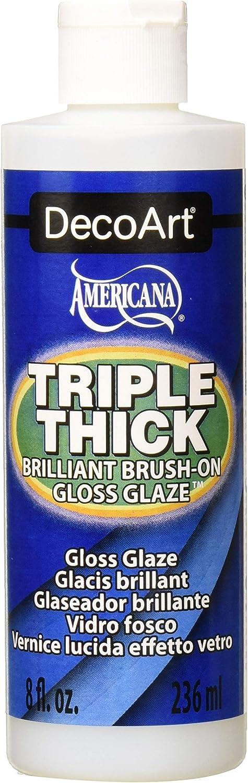 8 Ounce Triple Thick Gloss Glaze Finish