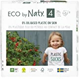 Eco by Naty Diapers, Size 4, 156 Count (1 Case)