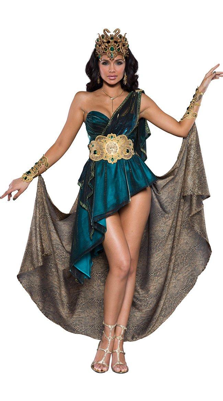 Fun World Women's Mesmerizing Medusa Costume, Teal, L