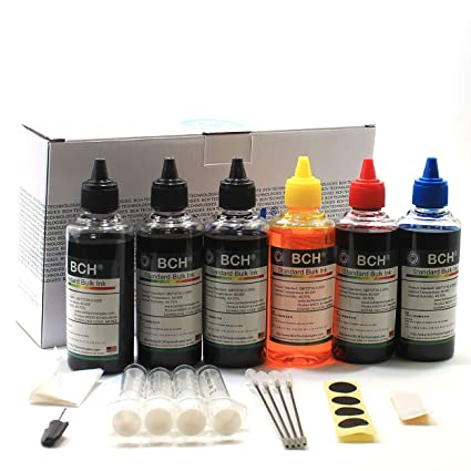 Amazon.com: BCH Standard 600 ml Refill Ink Kit for all printers ...