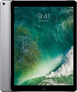 Apple iPad Pro 2nd 12.9in with Wi-Fi 2017 Model, 512GB, GREY (Renewed)