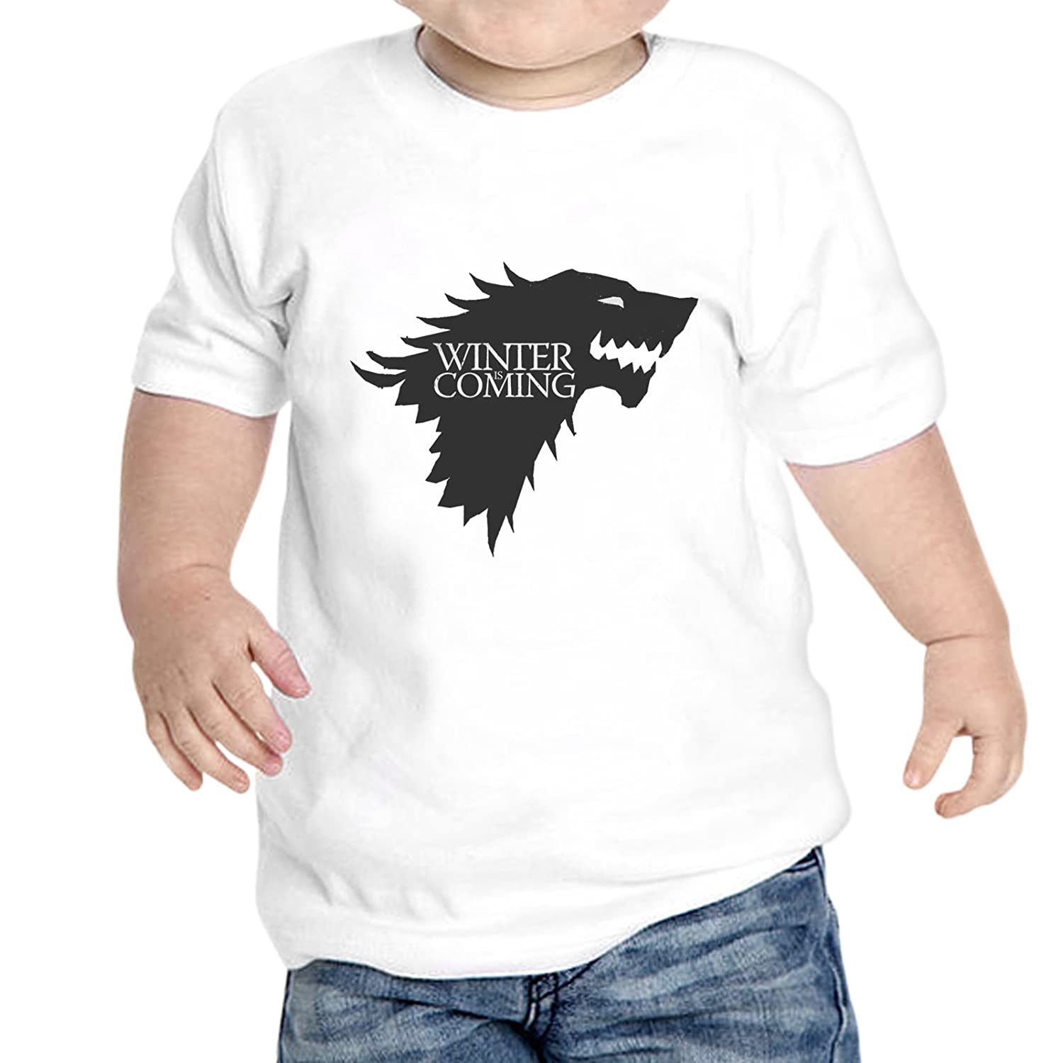 thedifferent T-Shirt Neonato Unisex Winter is Coming