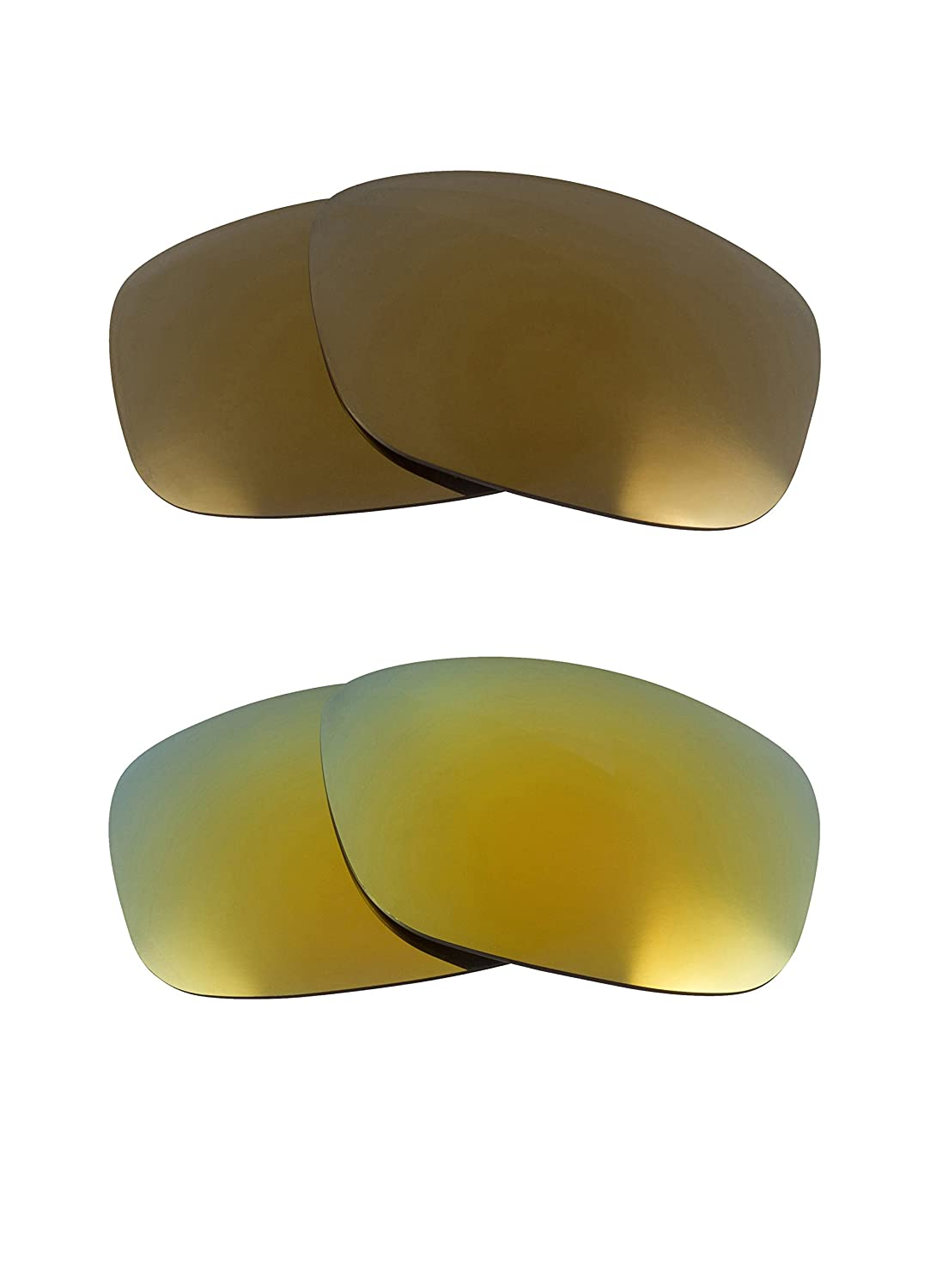 b3f98077970 Oil Drum Replacement Lenses Polarized Gold   Green by SEEK fits OAKLEY at  Amazon Men s Clothing store