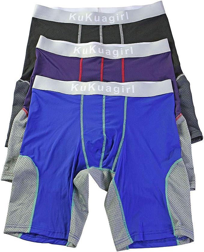 Bmeigo Calzoncillos Boxer Hombre Clásico Sport Pantalones Cortos ...