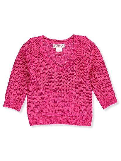 8865fb102b4 Amazon.com  Pink Angel Baby Girls  V-Neck Sweater  Clothing