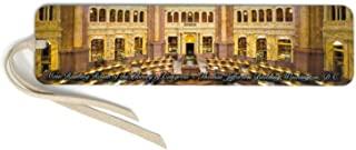 product image for US Library of Congress, Color Wooden Bookmark with Suede Tassel