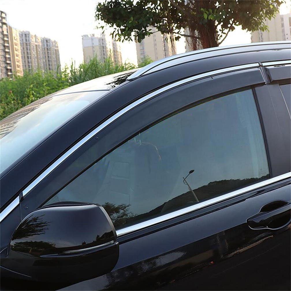 Window Wind Deflector Visor Rain//Sun Guard Vent For 2017-2018 Honda CRV CR-V