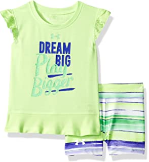 69e612ca3 Amazon.com  Under Armour Baby Girls Cutest Romper Ever  Clothing