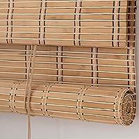 Bamboe rolgordijnen buiten 40x50cm, bamboe rolgordijnen voor ramen, verduisterende rieten tinten, 80% schaduw/ademend…