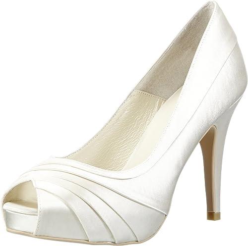 Scarpe Sposa 37.Menbur Wedding May 5123 Scarpe Col Tacco Da Sposa Avorio