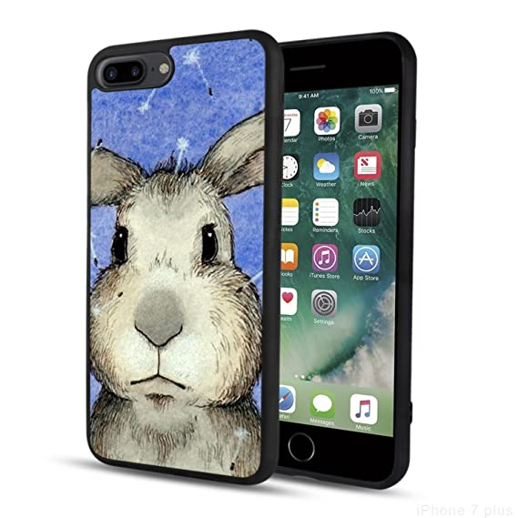 Image Unavailable. Image not available for. Color  Rabbit iPhone 7 Plus Case  for Women ... 05668b0a58
